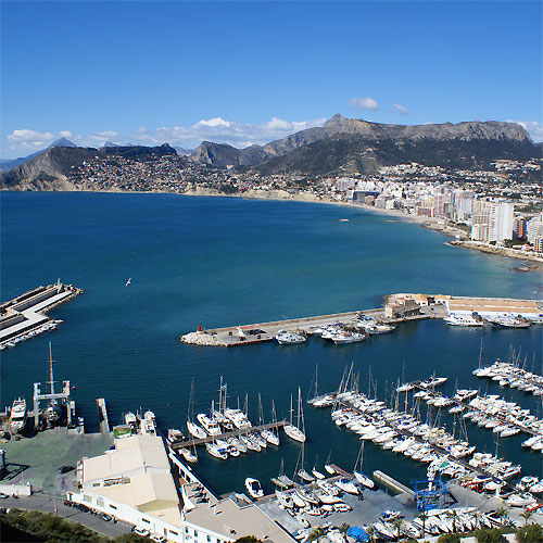 haven Ifach, Calpe, Costa Blanca, Spanje